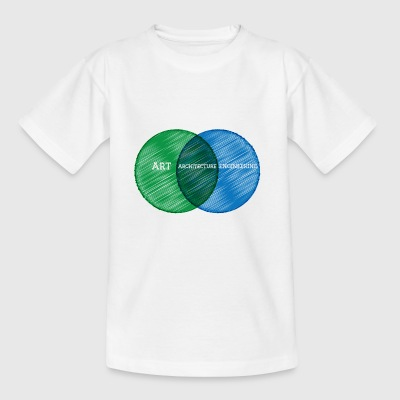 Architect / Architectuur: Art, Architecture, - Kinderen T-shirt