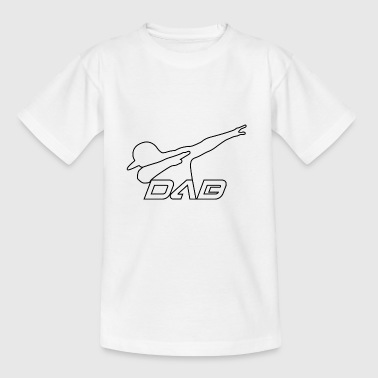 Alternate DAB outline black - Kinder T-Shirt