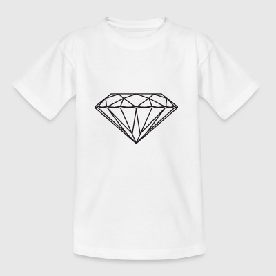 diamant - T-skjorte for barn