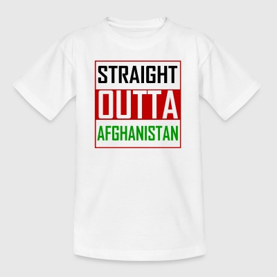 STRAIGHT OUTTA AFGHANISTAN - Børne-T-shirt
