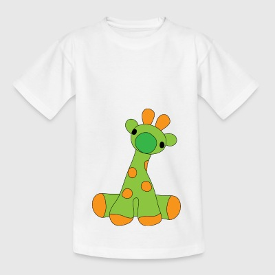Sweet orange spotted monster - Kids' T-Shirt