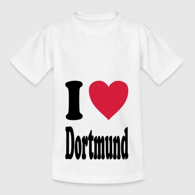 I love Dortmund - Kids' T-Shirt