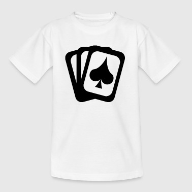 Card game spades sheet - Kids' T-Shirt