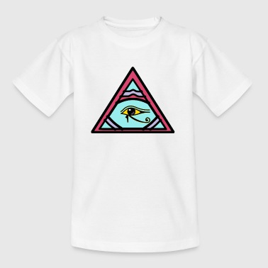 Illuminati Eye of Horus gaveide - T-skjorte for barn