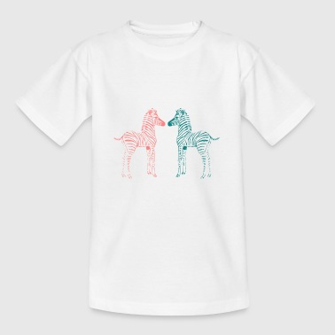 Double zebra - Kids' T-Shirt