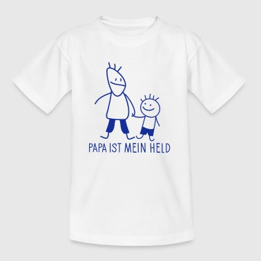 Mein Held - Kinder T-Shirt