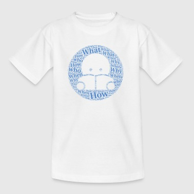 Learning Buddy with Tagul Style - Kids' T-Shirt