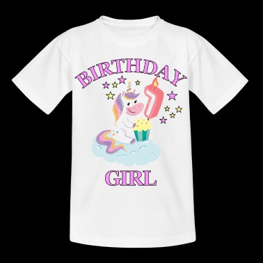 7:e Birthday Girl - T-shirt barn