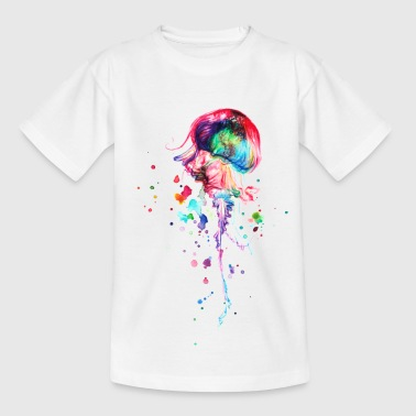 Qualle LooDesigns - Kinder T-Shirt