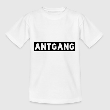 Antgang - T-skjorte for barn