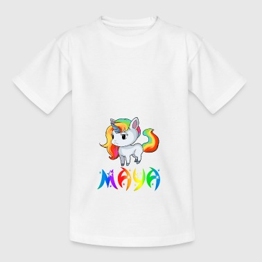 Mayan unicorn - Kids' T-Shirt
