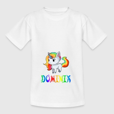 Dominik Einhorn - Kinder T-Shirt