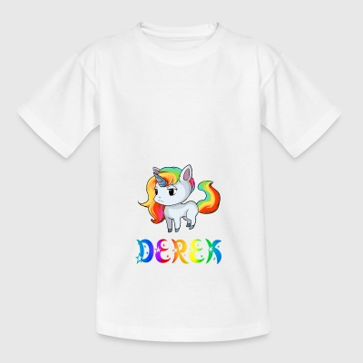 Derek unicorn - Kids' T-Shirt