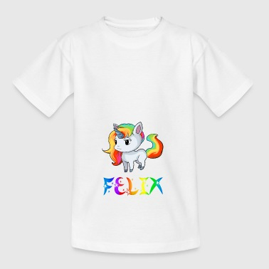 Felix unicorn - Kids' T-Shirt