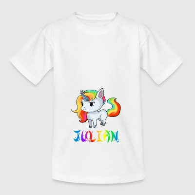 Einhorn Julian - Kinder T-Shirt