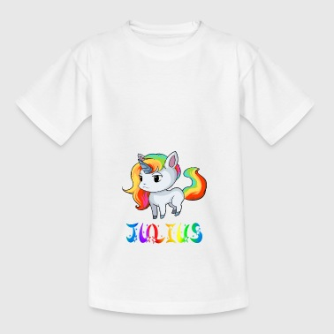 Einhorn Julius - T-skjorte for barn