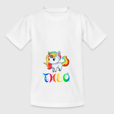 Unicorn Theo - Kids' T-Shirt