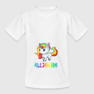 Unicorn Alejandra - Kids' T-Shirt