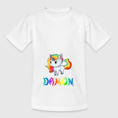 Einhorn Damon - Kinder T-Shirt