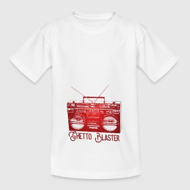Ghetto Blaster - Kinder T-Shirt