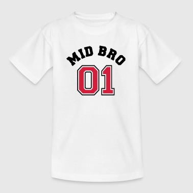 Mid Bro 01 - Middle Brother - Kids' T-Shirt