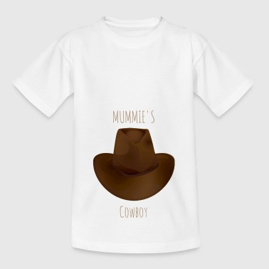 Mummie Cowboy - T-skjorte for barn