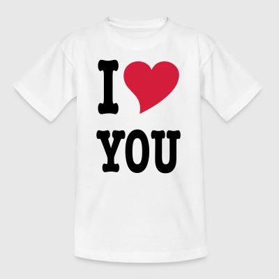 I_LOVE_U1 - Kinder T-Shirt