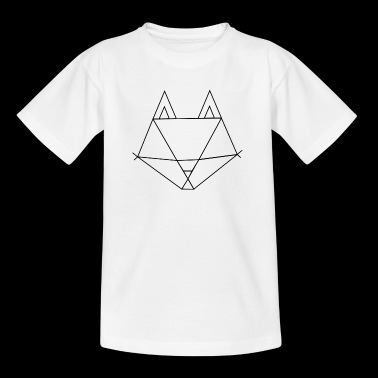 Fox outline - Kids' T-Shirt