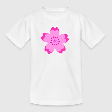Japanese Cherry Blossom - T-skjorte for barn