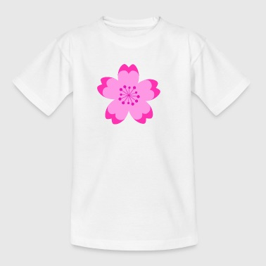 Japanese Cherry Blossom - Kinderen T-shirt