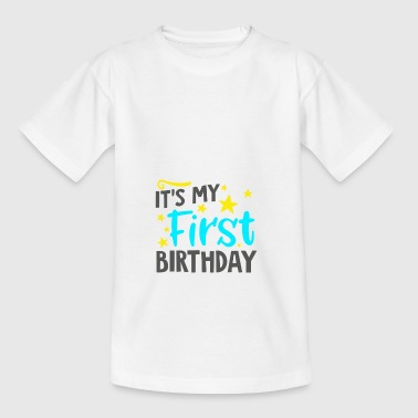 Baby children 1st birthday t-shirt gift - Kids' T-Shirt