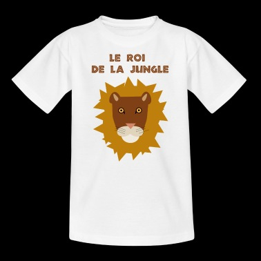 King of the jungle - Kids' T-Shirt