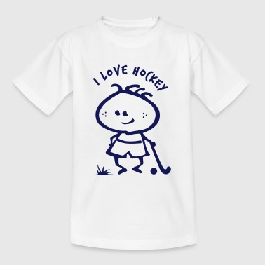 Hockey Boy - Kinder T-Shirt