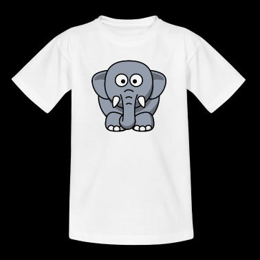 elefant - T-skjorte for barn