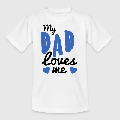 Baby my dad - Kids' T-Shirt
