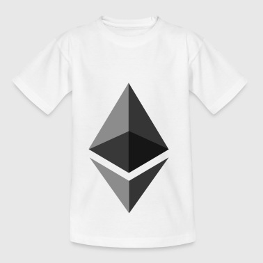 Original Ethereum Symbol - Kinderen T-shirt