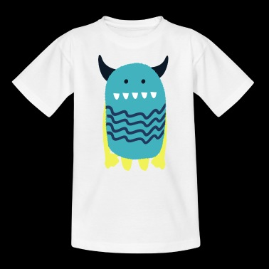 Lea Monstinchen - Monster Cool-kolleksjonen - T-skjorte for barn