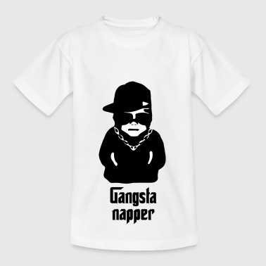 Gangsta baby Napper - T-shirt barn