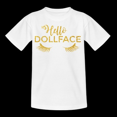 Baby hello dollface - Kids' T-Shirt