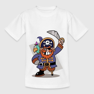 Pirate tooth gap with color agogo - Kids' T-Shirt