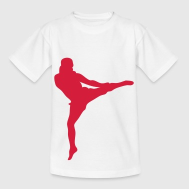 kickboxing sport - Kids' T-Shirt