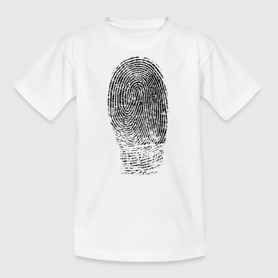 fingerprint - Kids' T-Shirt