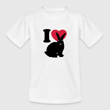 I love rabbits - Kids' T-Shirt