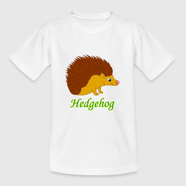 Vector illustration Hedgehog - Kids' T-Shirt