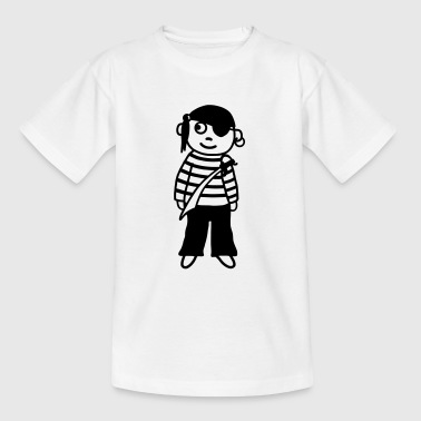 Pirate with saber - Kids' T-Shirt