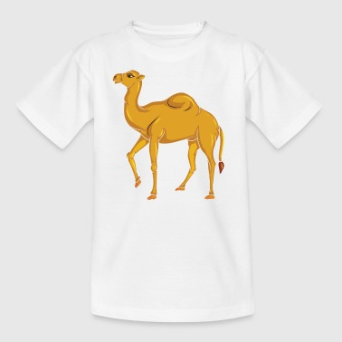 Vector Cute Camel - Kids' T-Shirt