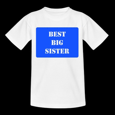 Best Big Sister Blue - Kids' T-Shirt