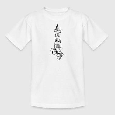 Lighthouse on the hill - Kids' T-Shirt