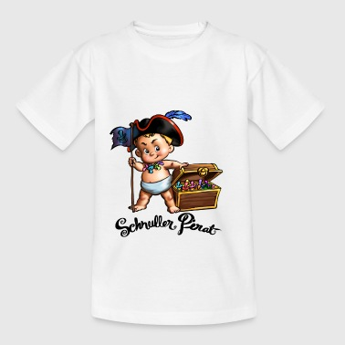Pacifier pirate - Kids' T-Shirt