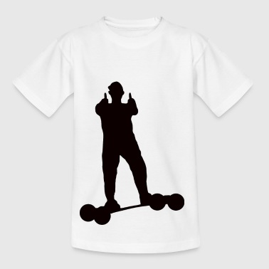 Mountainboard Thumbs up - Kinder T-Shirt